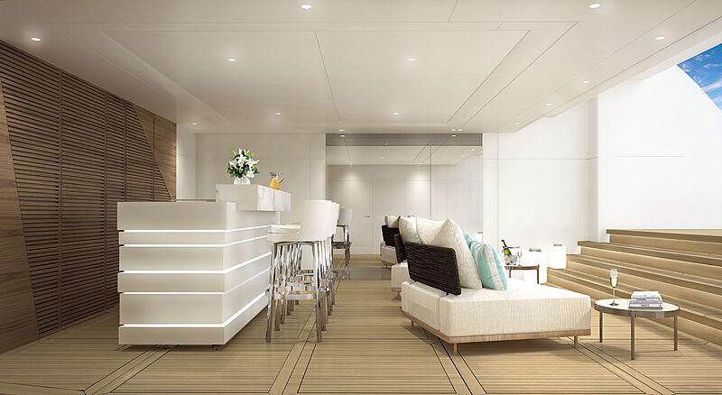 Aura yacht interior design