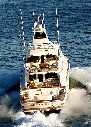 ALESSA LEIGH yacht Hatteras