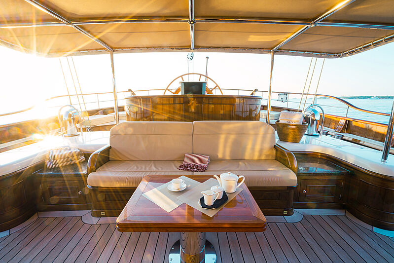 Mikhail S. Vorontsov yacht deck