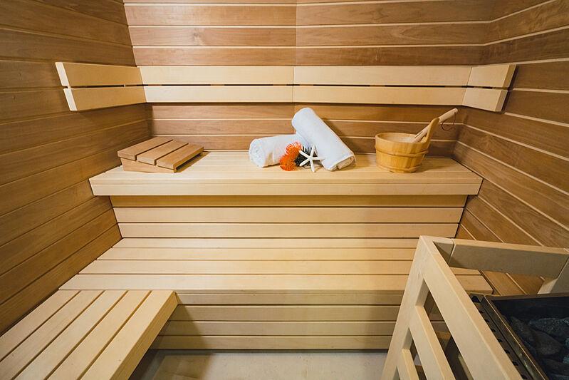 Mikhail S. Vorontsov yacht sauna