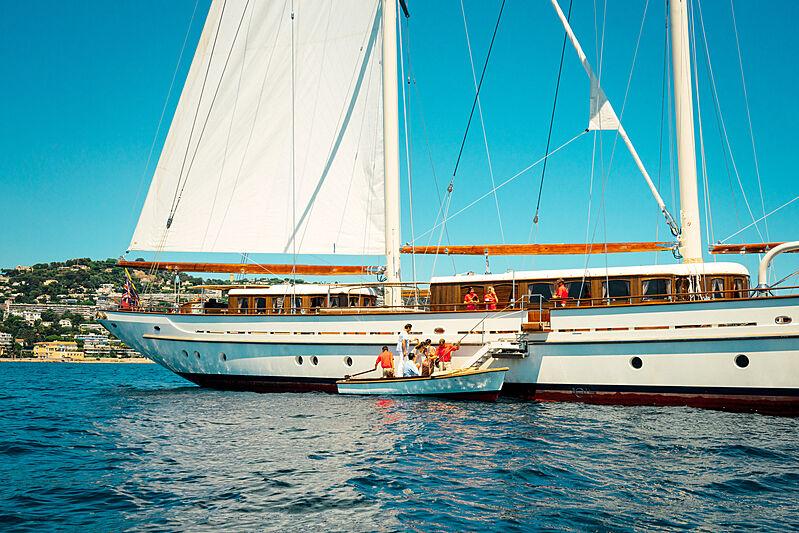 Mikhail S. Vorontsov yacht at anchor