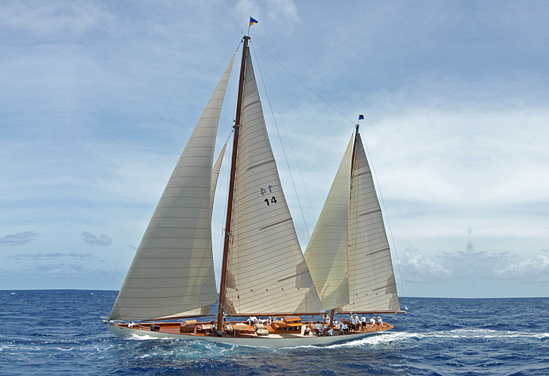 SUMURUN yacht William Fife & Sons