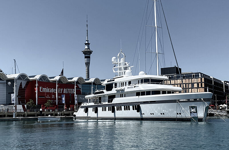 Promise yacht by Feadship in Auckland, New Zealand