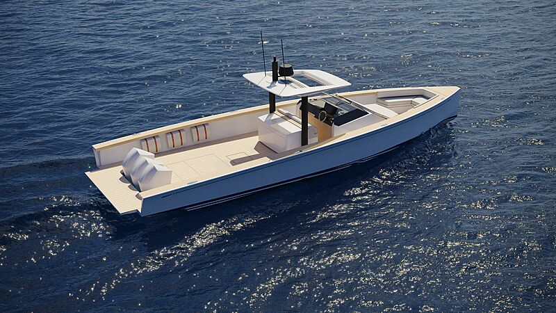 Swan Shadow tender exterior design
