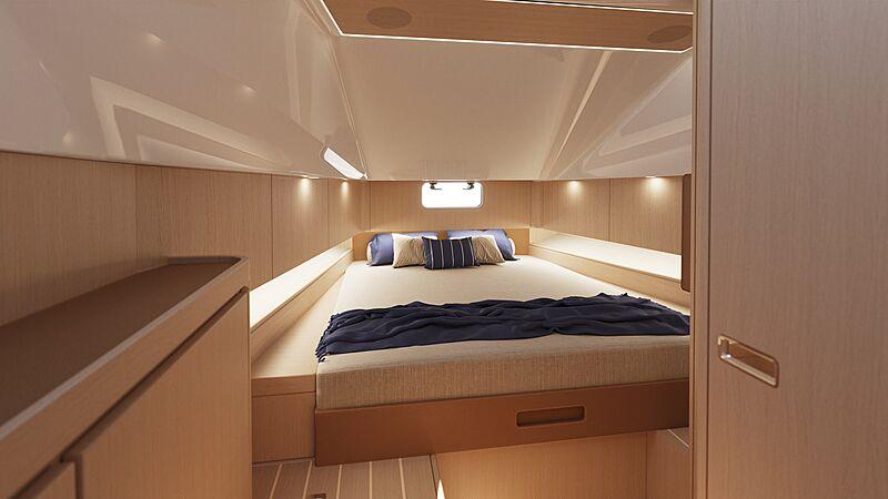 Swan Shadow tender interior design