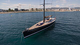 Nefertiti yacht aerial