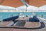 Nefertiti yacht deck