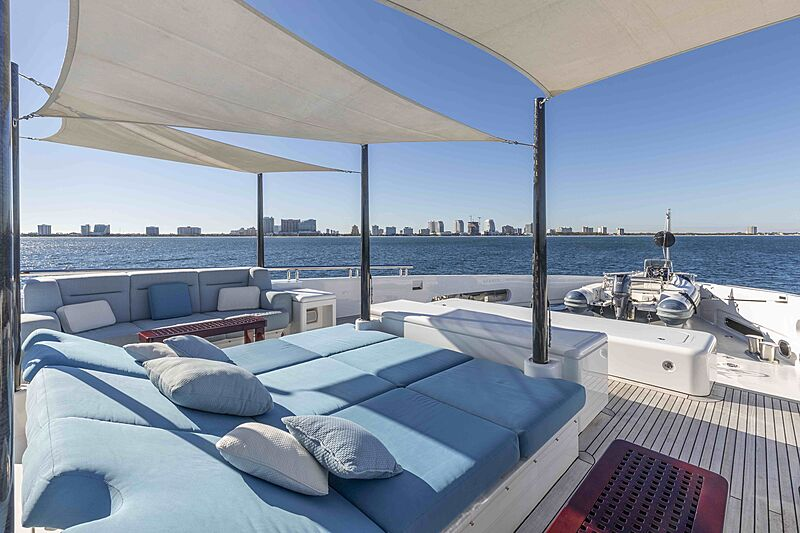 Sirona III yacht deck