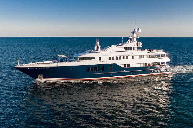 Sirona III yacht cruising