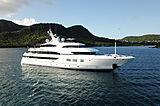 Avanti yacht anchored