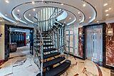 Avanti yacht hall and staircase