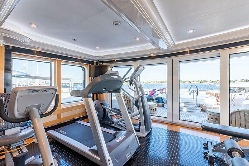 Avanti yacht gym