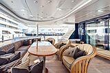 Avanti yacht aft deck