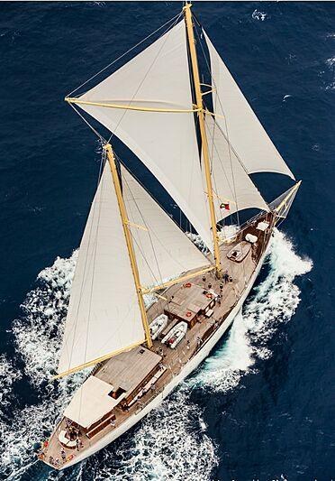 Chronos yacht sailing