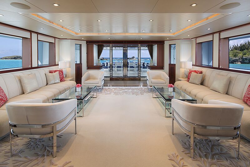 Time for Us yacht saloon