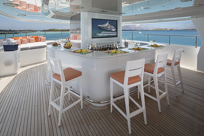 Time for Us yacht deck