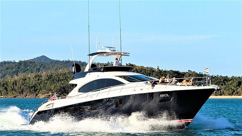 AWOL yacht Lazzara