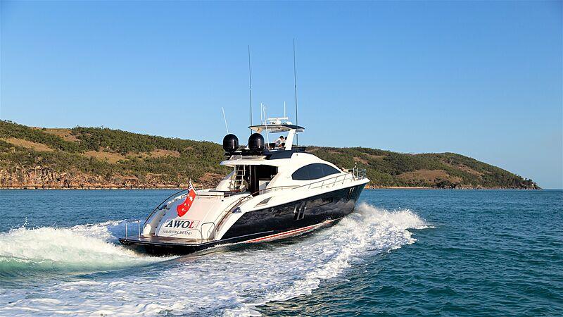 Awol yacht cruising