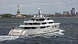 Grace E yacht cruising in New York