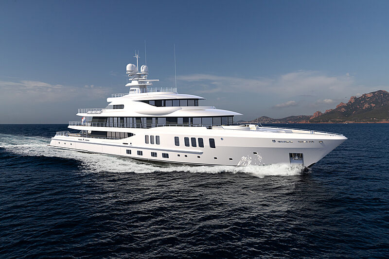 Amels 24207 yacht exterior design