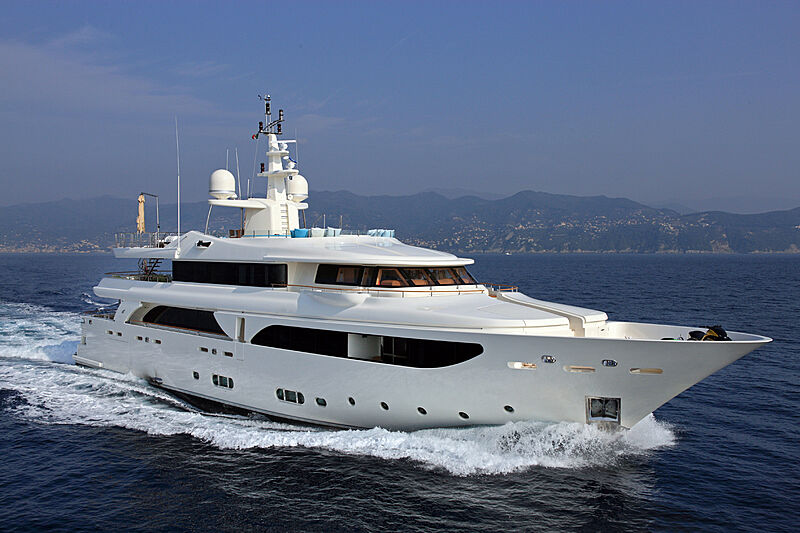 Megalodon yacht cruising