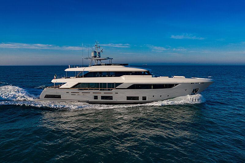 Custom Line Navetta 37 yacht profile