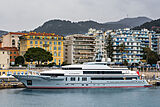 Atomic yacht in Nice