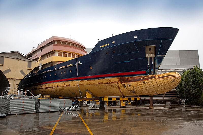 Ulucitcan yacht at Dunya Yachts