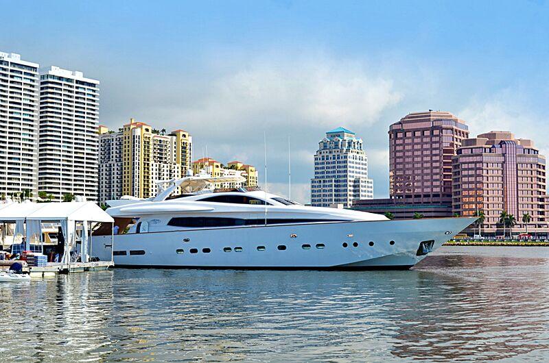 Dear Henri yacht in marina