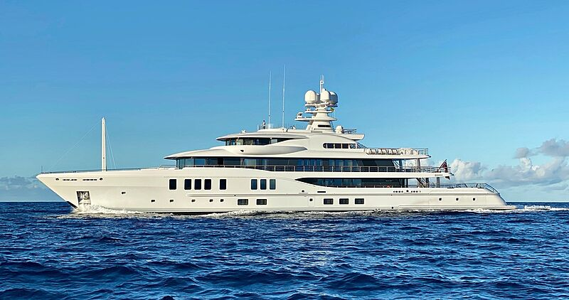 Synthesis yacht by Amels in Anguilla