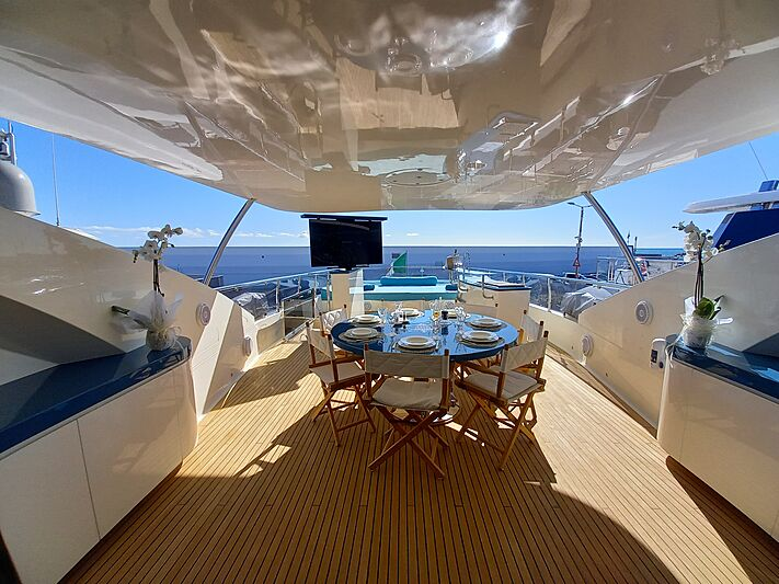 Freedom yacht deck