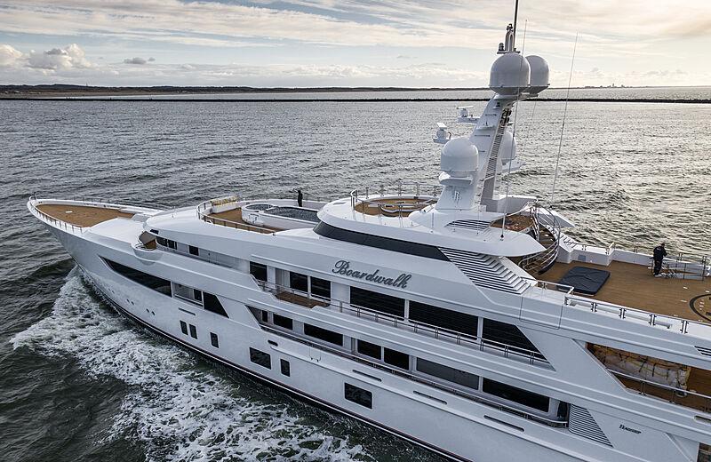 Boardwalk yacht by Feadship