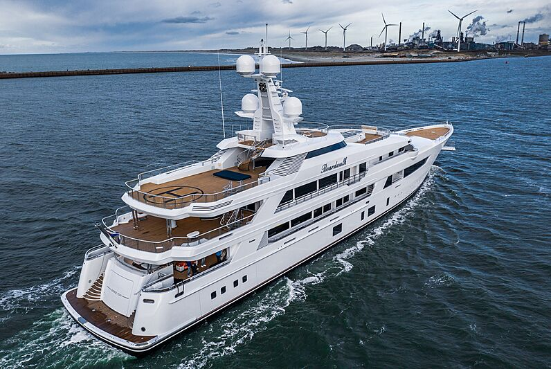 Boardwalk yacht by Feadship