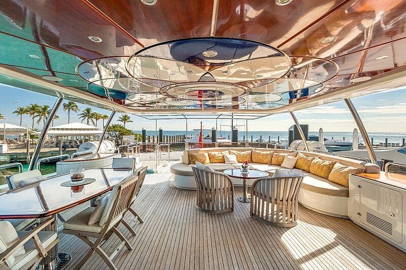 Rutli E yacht aft deck