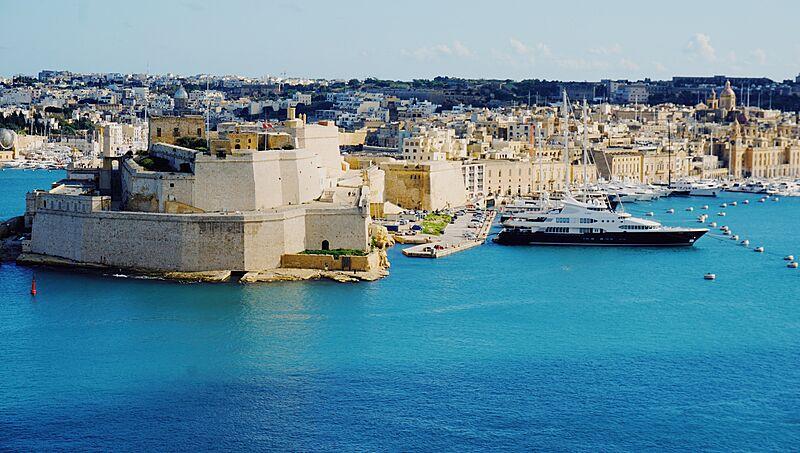 Samar in Malta marina