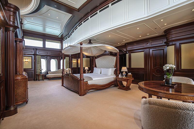 Anna I yacht stateroom