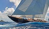 Wisp yacht sailing
