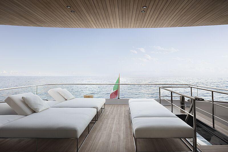 Sanlorenzo SX112 yacht deck