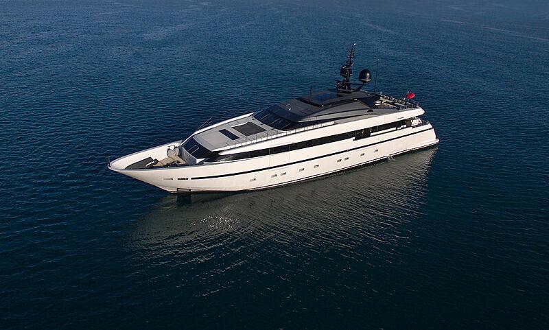 Asteri yacht anchored