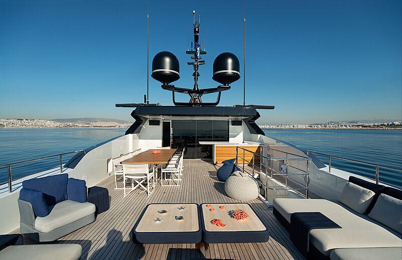 Asteri yacht deck