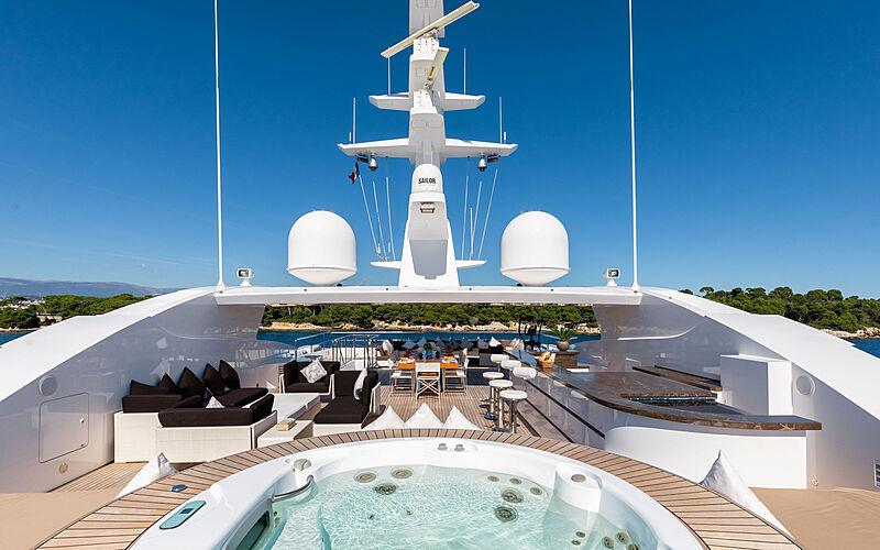 Rahil yacht sundeck