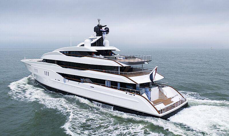 Vanish yacht by Feadship