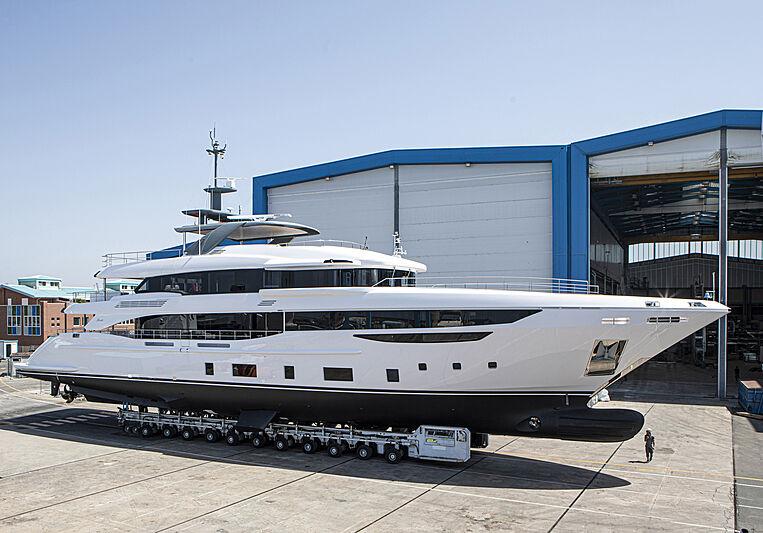 Benetti Diamond 145/02 launch in Viareggio