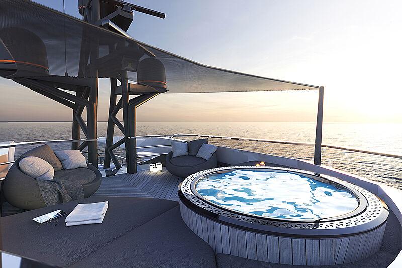 Rock XL yacht exterior design