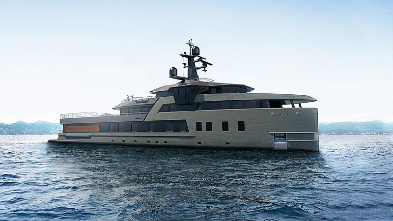 Damen 58m SeaExplorer exterior rendering