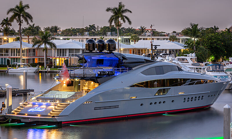 Andiamo yacht by Palmer Johnson in Fort Lauderdale