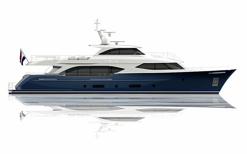 Moonen 110 yacht updated render
