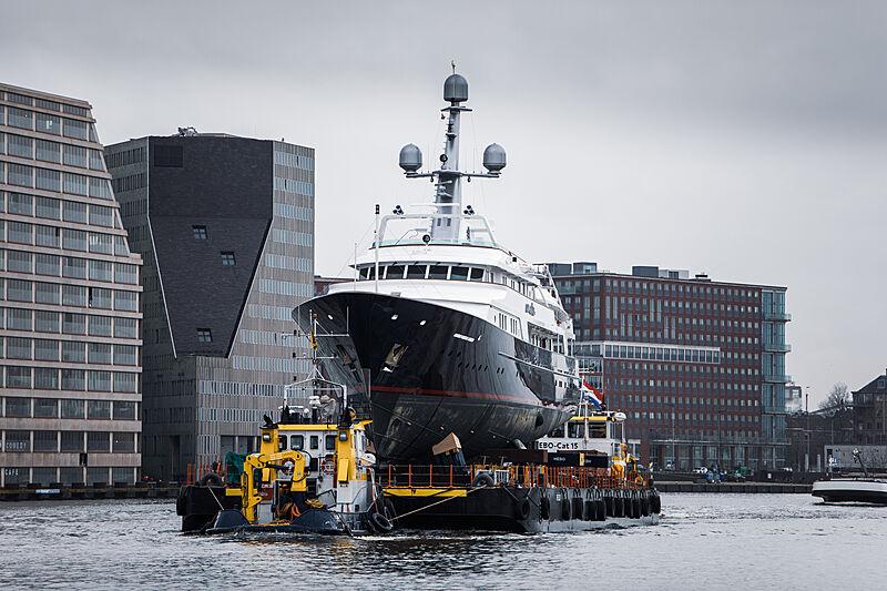 Amara yacht by Feadship in Amsterdam