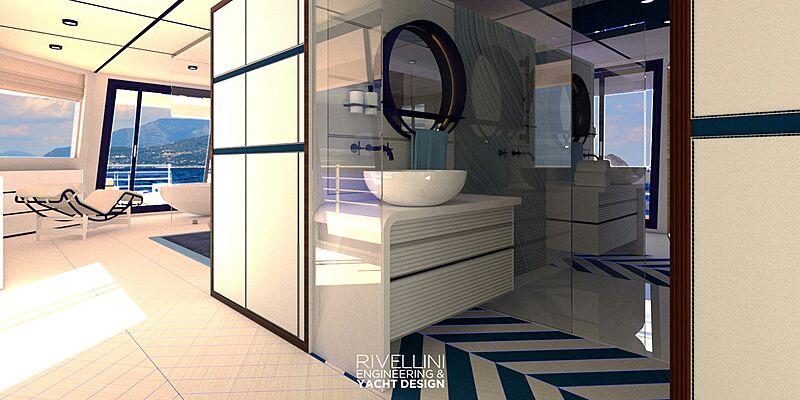 Valerio Rivellini Extended Explorer yacht concept