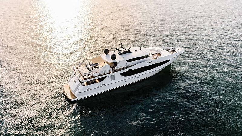 SAHANA yacht Oceanfast